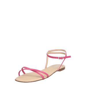 ABOUT YOU Remienkové sandále 'Melis'  ružová