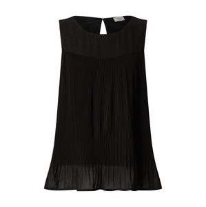 JACQUELINE de YONG Top 'JDYSTEFANO S/L PLEAT TOP WVN'  čierna