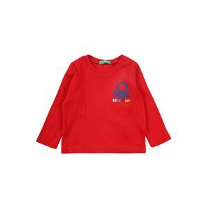 UNITED COLORS OF BENETTON Tričko  červená / zmiešané farby