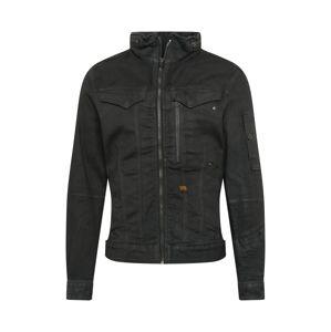 G-Star RAW Prechodná bunda  čierny denim