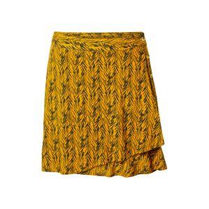 Noisy may Sukňa 'BEAGLE'  zlatá žltá / antracitová