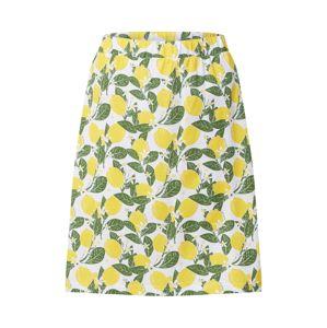 Degree Sukňa 'Zitroner'  žltá / zelená / biela