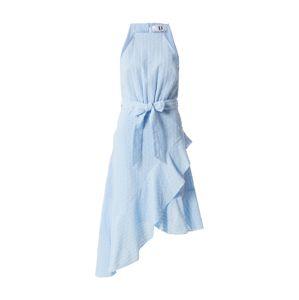 Forever Unique Šaty  svetlomodrá
