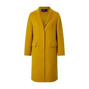 LAUREL Prechodný kabát  horčicová