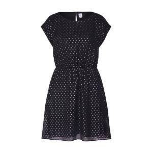 GAP Kokteilové šaty 'SS FOIL CLIP DRS'  čierna