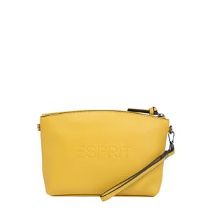 ESPRIT Kozmetická taška 'FARGO'  žltá