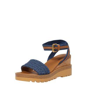 See by Chloé Remienkové sandále  hnedá / modrá