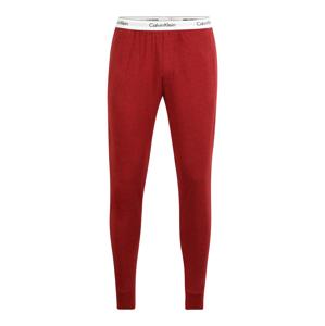 Calvin Klein Underwear Pyžamové nohavice  červená / biela / čierna