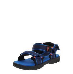 JACK WOLFSKIN Športová obuv  modrá / oranžová