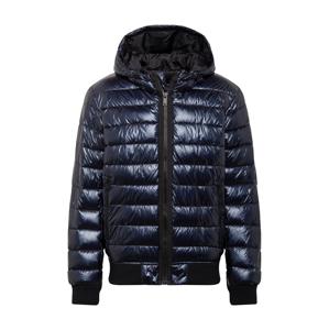 DKNY Zimná bunda  námornícka modrá / čierna