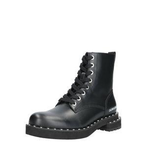 Calvin Klein Jeans Nízke čižmy 'NANNIE'  čierna