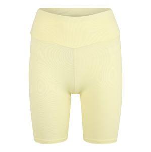 Hey Honey Športové nohavice 'Biker Short'  citrónová