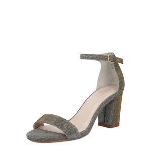 Carvela by Kurt Geiger Remienkové sandále 'Abigail'  striebornosivá