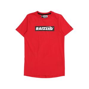 Raizzed Tričko 'Hamburg'  červená / čierna / biela