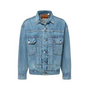 LEVI'S Prechodná bunda 'TRUCKER'  modrá denim