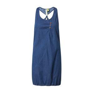 Alife and Kickin Letné šaty 'Cameron'  dymovo modrá / modrá