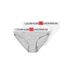 Calvin Klein Underwear Nohavičky  sivá / biela / čierna / červená