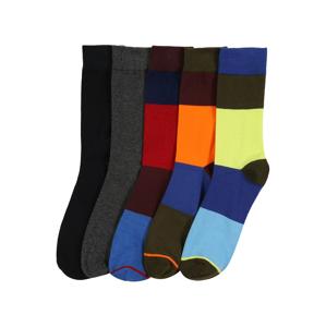 JACK & JONES Ponožky 'HAPPY BLOCK'  zmiešané farby