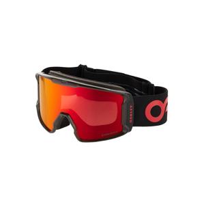 OAKLEY Športové okuliare 'Line Miner'  červená / čierna